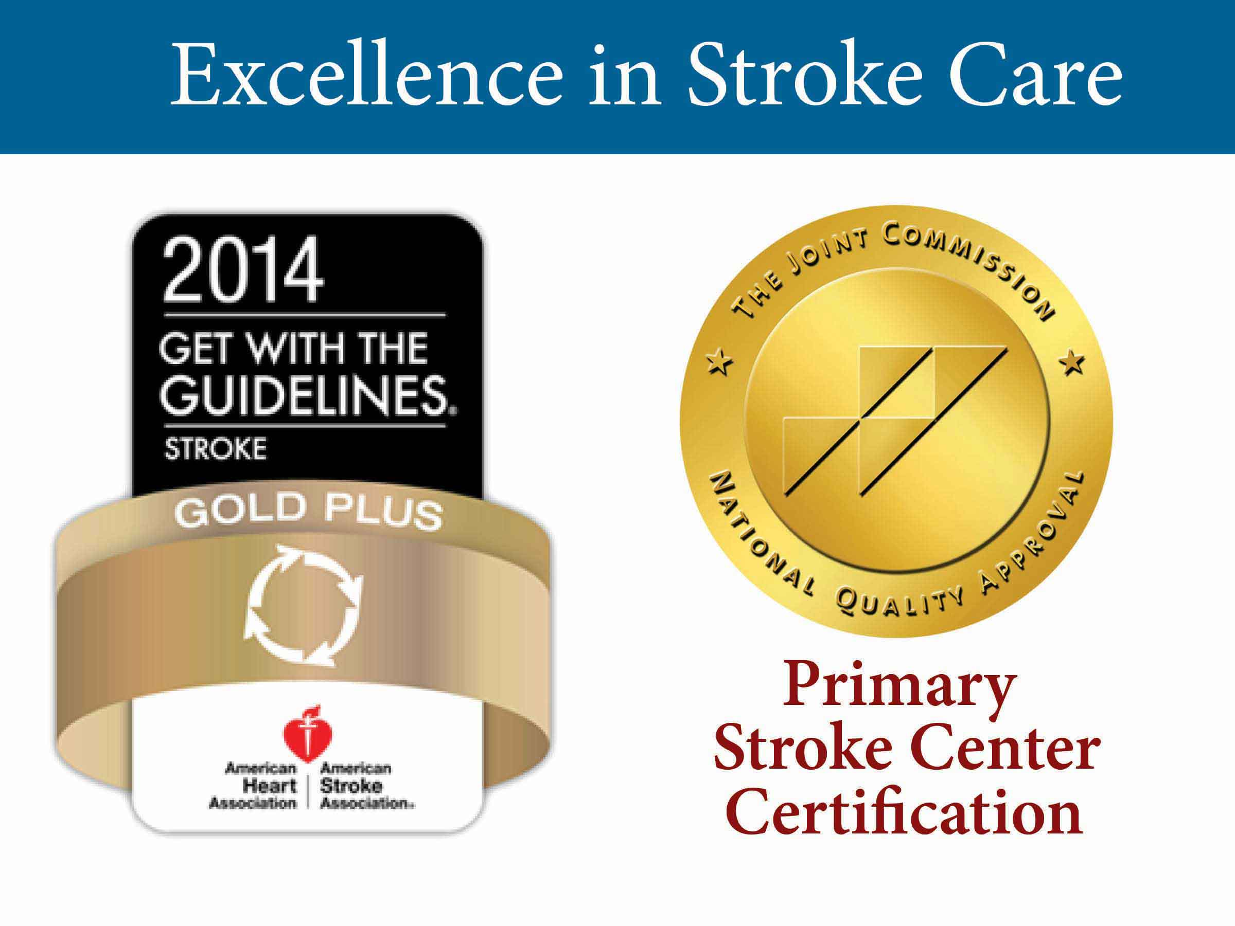 photo of stroke care excellence award